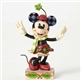 Disney Traditions Minnie Mouse Christmas Figurine By Jim Shore, 4051967
