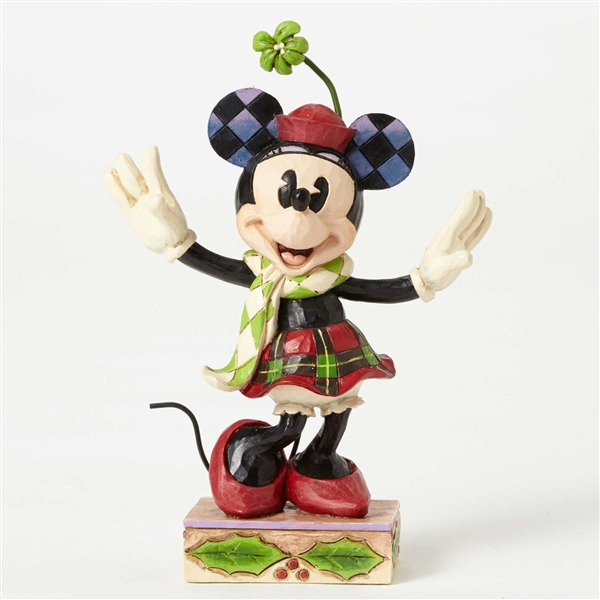 disney traditions minnie mouse christmas figurine by jim shore 4051967 larger photo email a friend