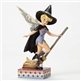 Disney Traditions Tinker Bell on Broom Figurine By Jim Shore, 4051980