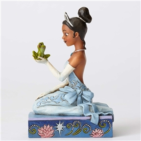 Disney Tradition Princess Tiana with Frog Figurine by Jim Shore, 4054276