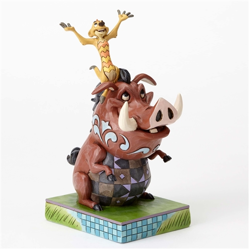 Disney Traditions Timon and Pumbaa Figurine by Jim Shore, 4054281