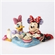 Disney Traditions Minnie and Daisy Sharing Popcorn Figurine by Jim Shore, 4054282