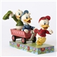 Disney Traditions Huey, Dewey and Louie on Wagon Figurine by Jim Shore 4054283