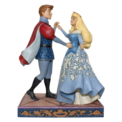 Disney Traditions Aurora and Prince Figurine by Jim Shore 4059733