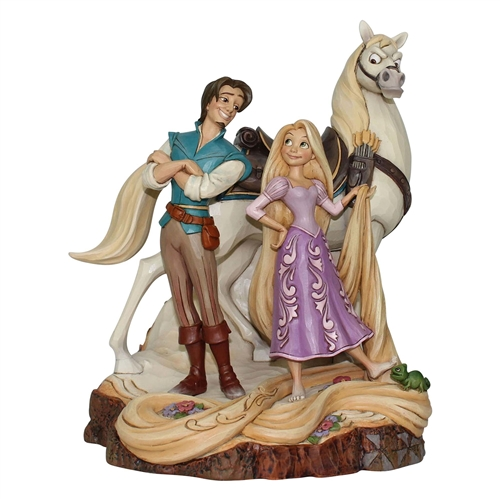 Disney Traditions 'Tangled' Carved by Heart Figurine by Jim Shore