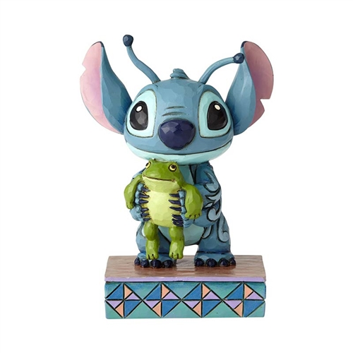 Disney Traditions Stitch Personality Pose Figurine by Jim Shore