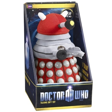 Doctor Who Plush Talking Dalek, Red - STK450428