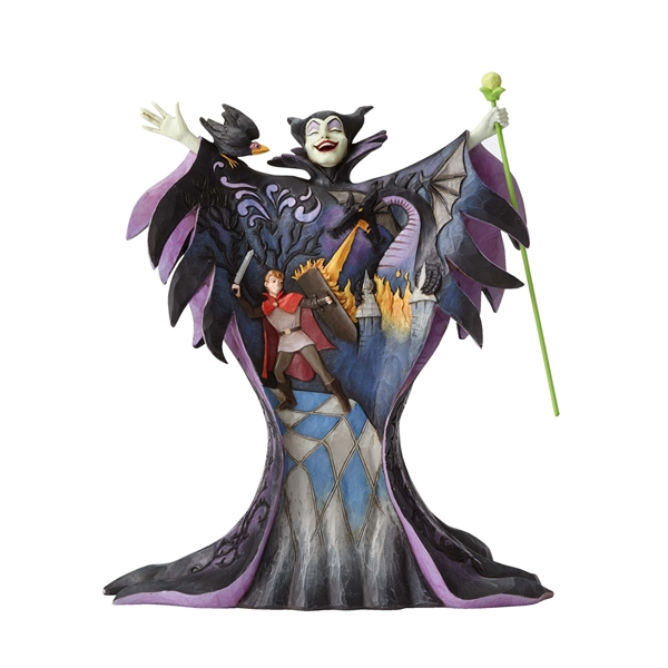 Disney Traditions Maleficent with Scene by Jim Shore Figurine 4055439
