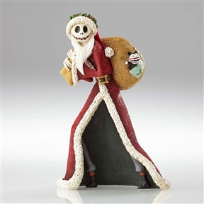 Disney Showcase Couture de Force Santa Jack Skellington Figurine