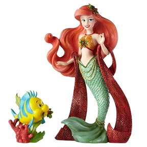 Disney Showcase Holiday Ariel Couture de Force Figurine Set, 6000818