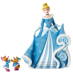 Disney Showcase Holiday Cinderella with Mice Figurine Set, 6002181