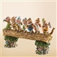 Disney Traditions Seven Dwarfs on Log Figurine, 4005434