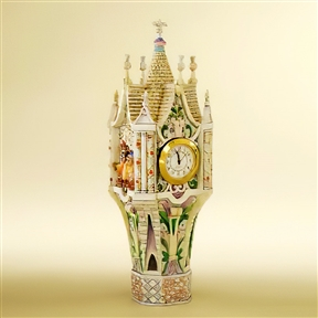Disney Traditions Cinderella's Clock Tower Figurine by Jim Shore, 4007217