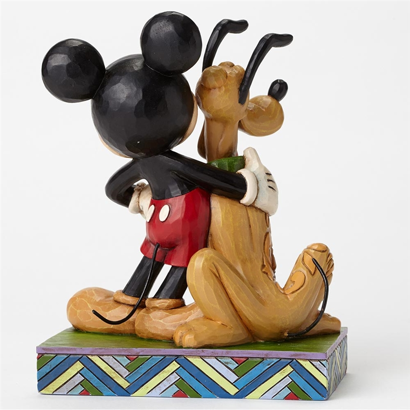 Disney Traditions Mickey and Pluto Figurine by Jim Shore ...