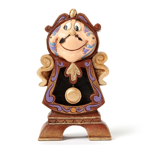 Disney Traditions 'Beauty and Beast' Cogsworth Figurine