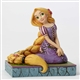 Disney Traditions Rapunzel Personality Pose Figurine By Jim Shore