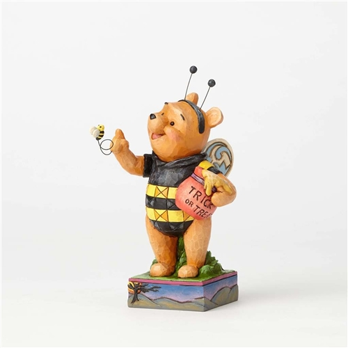 Disney Traditions Pooh Dressed as Honey Bee Figurine by Jim Shore