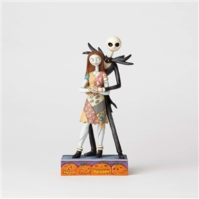 Disney Traditions Jack and Sally Figurine