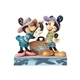 Disney Traditions Travel Mickey and Minnie Figurine