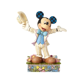 Disney Traditions Easter Mickey Mouse Figurine