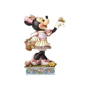 Disney Traditions Easter Minnie Mouse Figurine