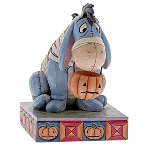 Disney Traditions Eeyore as Halloween Mummy Figurine, 6000952