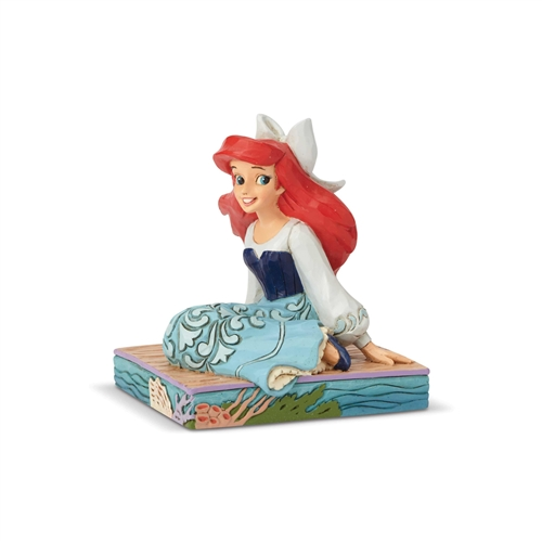 Disney Traditions Ariel Personality Pose Figurine by Jim Shore, 6001277
