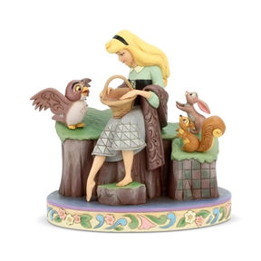 Disney Traditions Sleeping Beauty 60th Anniversary Figurine by Jim Shore |  6005959
