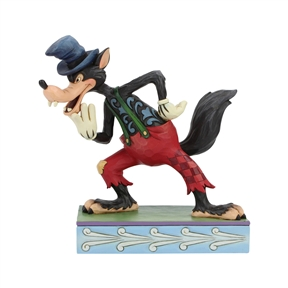 Disney Traditions Big Bad Wolf Figurine by Jim Shore | 6005973