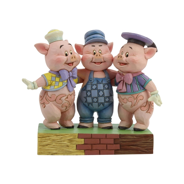 Disney Traditions The Three Pigs Figurine by Jim Shore | 6005974