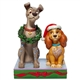 Disney Traditions Christmas Lady & Tramp Statue, 6007071