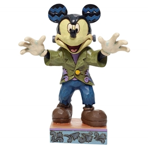 Disney Traditions Halloween Mickey Figurine by Jim Shore, 6007077