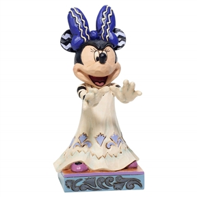 Disney Traditions Halloween Minnie Figurine by Jim Shore, 6007078