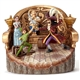 Disney Traditions Peter Pan Daring Duel Tree Carved by Heart Figurine