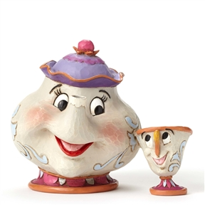 Disney Traditions Mrs. Potts and Chip Figurine