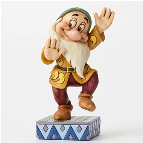 Disney Traditions Bashful the Dwarf Figurine