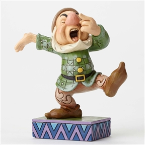 Disney Traditions Sneezy the Dwarf Figurine