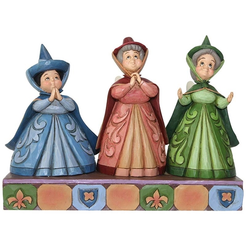 Disney Traditions Three Fairies 'Sleeping Beauty' Figurine
