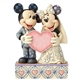 Disney Traditions Mickey and Minnie Wedding Figurine 4059748