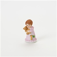 Age 1, Brunette - Growing Up Girls Figurine - E9525