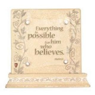 Faith Plaque - Foundations, 117027