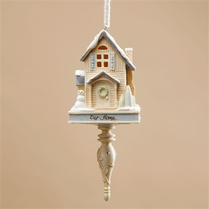 Foundations Christmas Home Hanging Ornament, 4018250