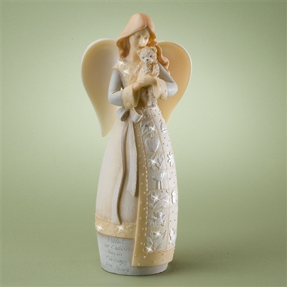 Guardian of Children Angel - Foundations Figurine, 4024909