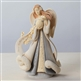 Christmas Angel with Globe - Foundations Figurine, 4026890