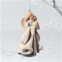 Angel with Globe - Foundations Ornament, 4026894