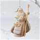 Santa with Staff - Foundations Ornament, 4026895