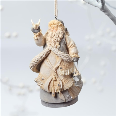 Santa with Dove - Foundations Ornament, 4026897