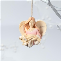 Sister Angel - Foundations Ornament, 4026901
