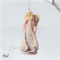 Breast Cancer Angel - Foundations Ornament, 4026904