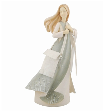 'Leaving Home' Young Lady - Foundations Figurine, 4029281